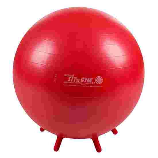 Ballon d'assise « Sit 'n' Gym » ø 55 cm, rouge
