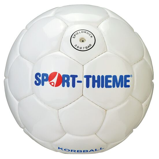 Ballon de balle à la corbeille