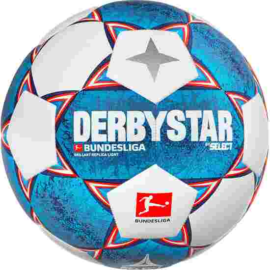 Ballon de football Derbystar « Bundesliga Brillant Replica Light 2020-2021 » Taille 4