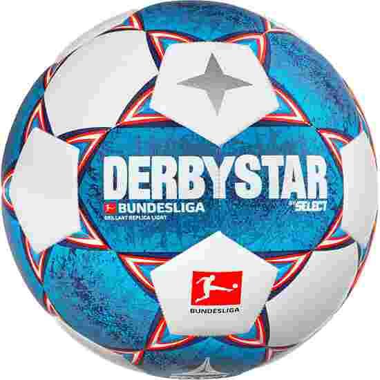 Ballon de football Derbystar « Bundesliga Brillant Replica Light 2020-2021 » Taille 5