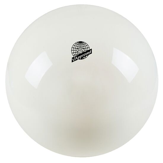 Ballon de gymnastique Togu Ballon de gymnastique de compétition laqué « 420 » FIG Blanc