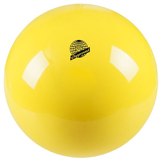 Ballon de gymnastique Togu Ballon de gymnastique de compétition laqué « 420 » FIG Jaune