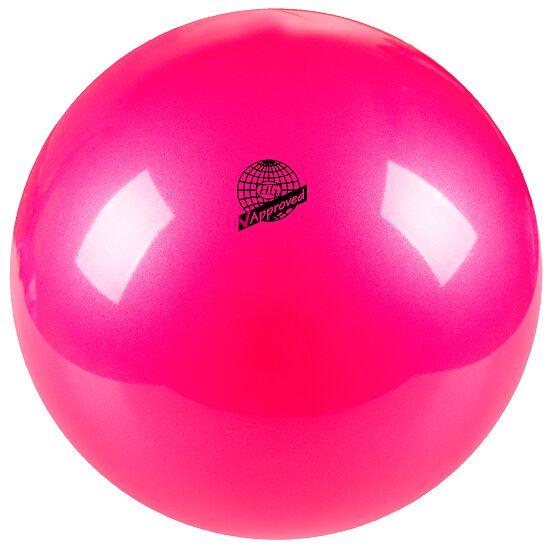 Ballon de gymnastique Togu Ballon de gymnastique de compétition laqué « 420 » FIG Rose