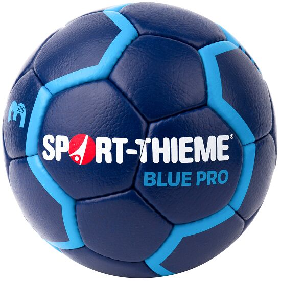 ballon de handball sport thieme blue pro de 10. Black Bedroom Furniture Sets. Home Design Ideas