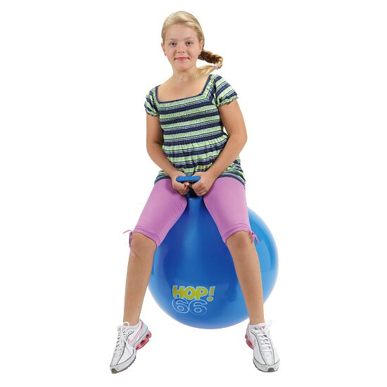 Ballon sauteur Hop Gymnic® ø 66 cm, bleu