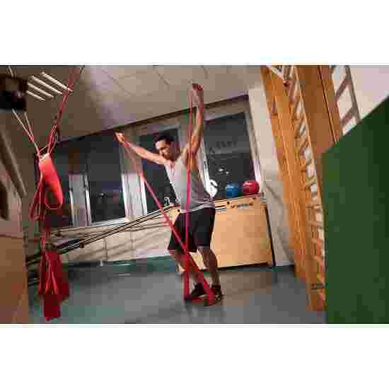 Bande de fitness Sport-Thieme 150 2 m x 15 cm, Rouge = très difficile