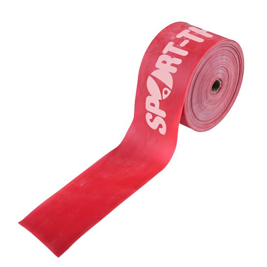 Bande de fitness Sport-Thieme® 75 25 m x 7,5 cm, Rouge = très difficile