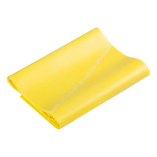 Bande Thera-Band® 250 cm avec tube de rangement Jaune, facile