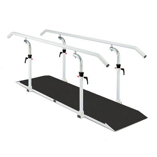 Barres de marche avec plate-forme Longueur de la barre 250 cm