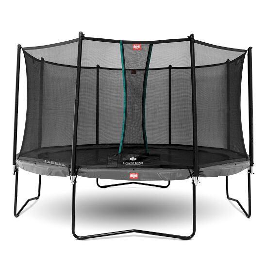 berg trampolin champion mit sicherheitsnetz comfort. Black Bedroom Furniture Sets. Home Design Ideas