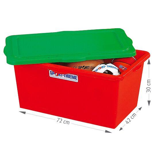 Boîte de rangement Sport-Thieme® 90 litres Rouge