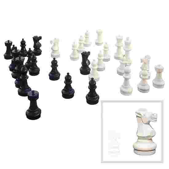 Bodenschachfiguren Standfläche ø 22,5 cm, Königshöhe 64 cm