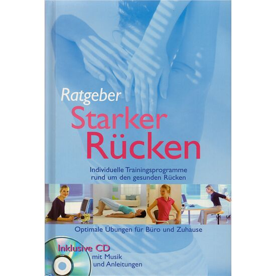 """Buch mit CD """"Ratgeber Starker Rücken"""""""