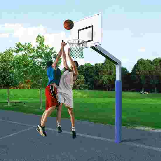 But de basket Sport-Thieme « Fair Play » avec filet en corde Hercules Panier « Outdoor »