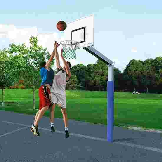 But de basket Sport-Thieme « Fair Play » avec filet en corde Hercules Panier «Outdoor » à déclenchement