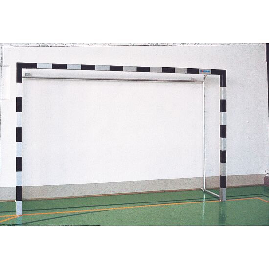 But de handball en salle en aluminium 3x2 m Avec supports de filet autostables