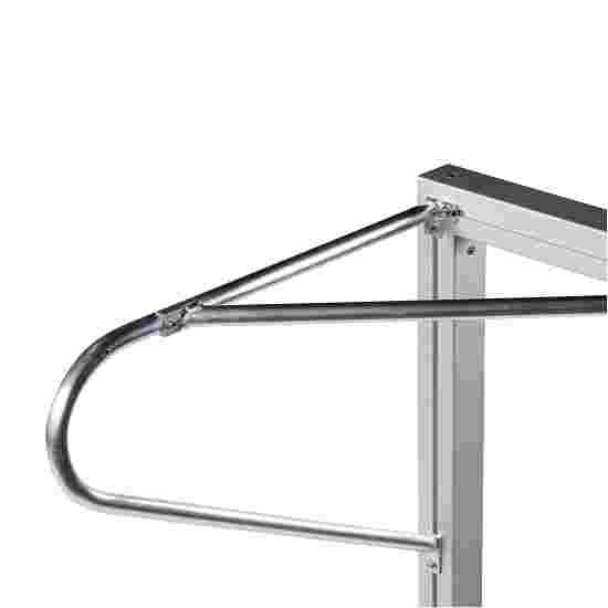 Buts 3x2 m Sport-Thieme en aluminium, profilé carré, autostable ou avec fourreaux Avec fourreaux