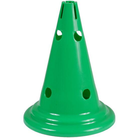 Cône multifonction Vert, 30 cm, 8 trous