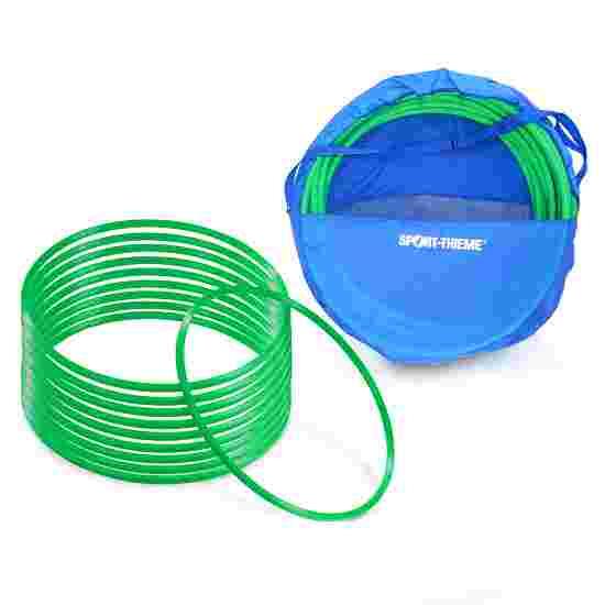 Cerceaux de gymnastique Sport-Thieme par lot avec sac de rangement « ø 50 cm » Vert