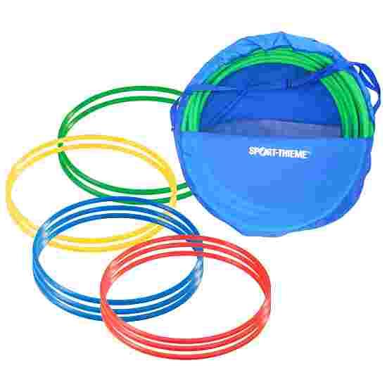 Cerceaux de gymnastique Sport-Thieme par lot avec sac de rangement « ø 50 cm » Multicolore
