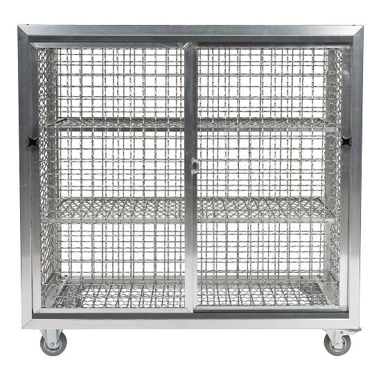 Chariot-armoire de piscine Avec roulettes, 125x125x62 cm