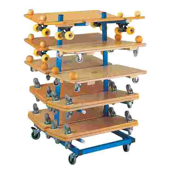 Chariot de rangement pour planches à roulettes Sport-Thieme