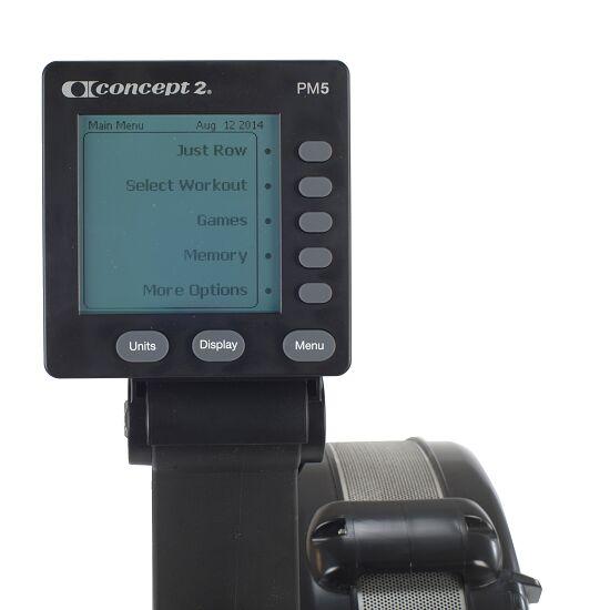 """Concept2 Rudergerät  """"Modell D""""mit PM5 Monitor Schwarz"""