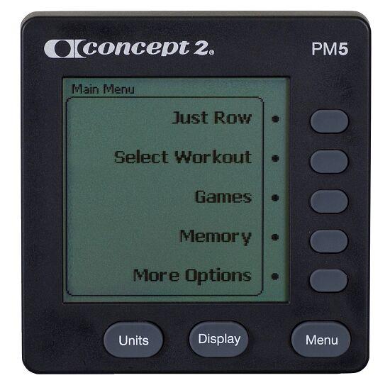 """Concept2 Rudergerät  """"Modell E"""" mit PM5 Monitor"""