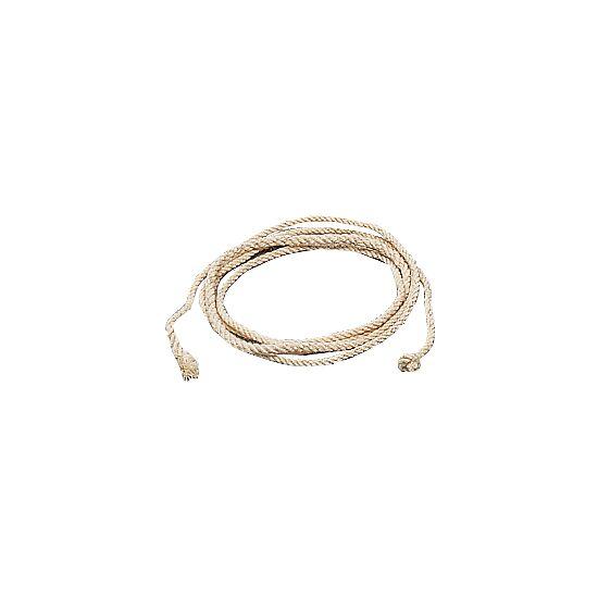 Corde à sauter en fibre douce (3 torons tressés) 2,50 m