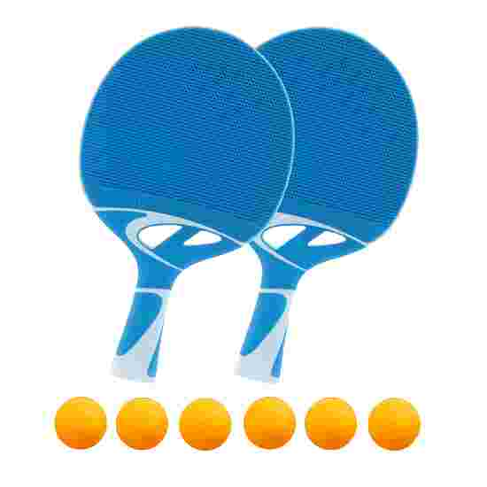 Cornilleau Lot de raquettes de tennis de table « Tacteo 30 » Balles orange