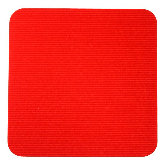 Dalles de gym Sport-Thieme® Rouge, Carré, 30x30 cm