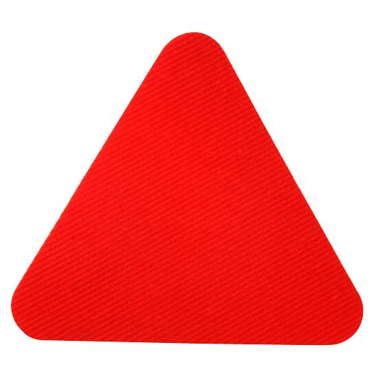 Dalles de gym Sport-Thieme® Rouge, Triangle, 30 cm de côté