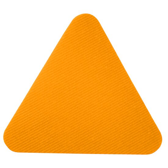 Dalles de gym Sport-Thieme® Orange, Triangle, 30 cm de côté