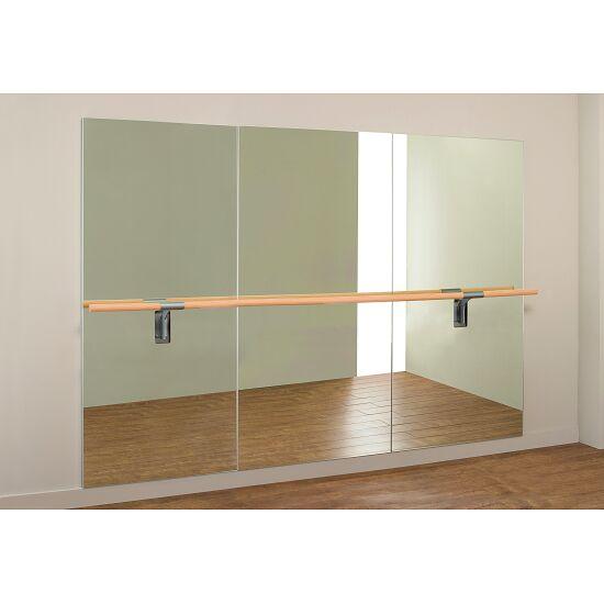 Dinamica Ballet Miroir de danse « Amadeus » Barre simple de 3 m et 2 supports, 3,00x2,00 m