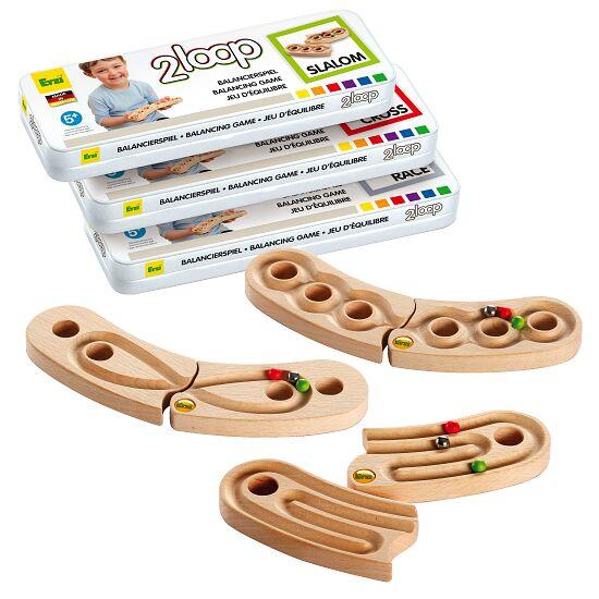 """Erzi® Handbalancierspiel-Set """"2 Loop"""""""