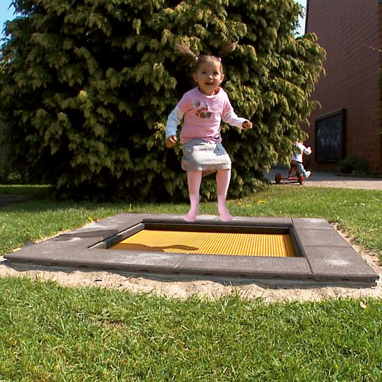 "Eurotramp Kids-Bodentrampolin ""Kindergarten Mini"" Sprungtuch eckig"