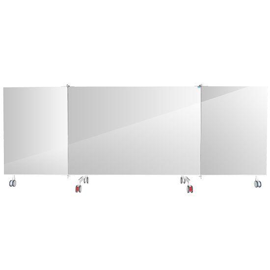 Fahrbarer Kristallspiegel 3-teilig, klappbar, 4,00x1,98 m (BxH)