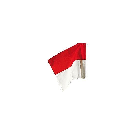 Fanion Sport-Thieme pour poteau de délimitation ø 50 mm Rouge-blanc