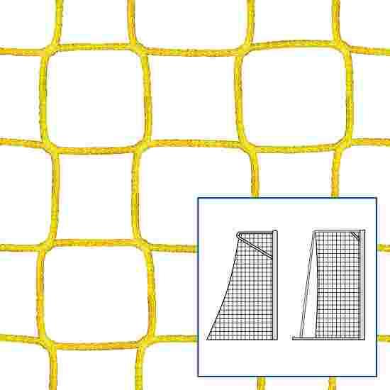 Filet de handball « 80/100 cm » Jaune, 4 mm