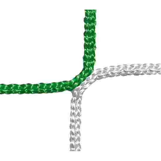 Filet de protection et d'arrêt, mailles 12 cm Vert-Blanc, ø 4,00 mm