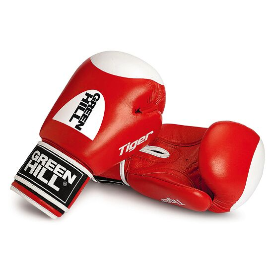 Gants de boxe Green Hill® « Tiger » 10 oz., rouge