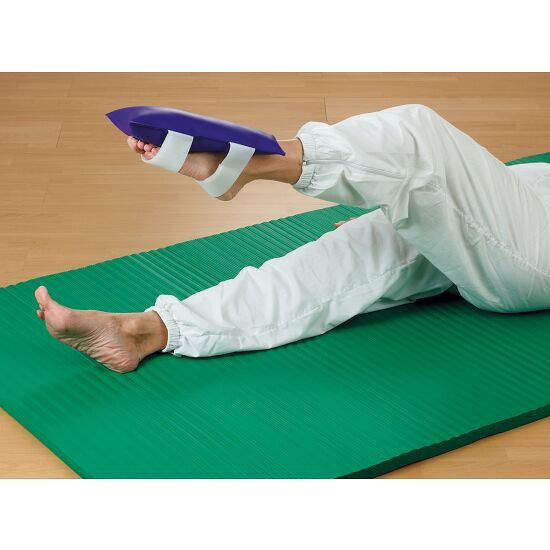 Gymnastik-Sandsack Mit Klettband, 2 kg, 30x15 cm