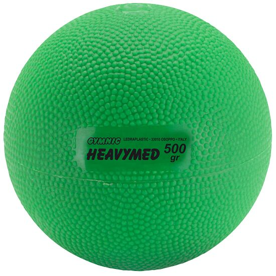 Gymnic Heavymed 500 g, ø 10 cm, Grün