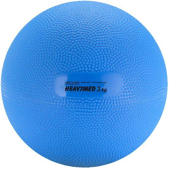 Gymnic Heavymed 3.000 g, ø 17 cm, Blau