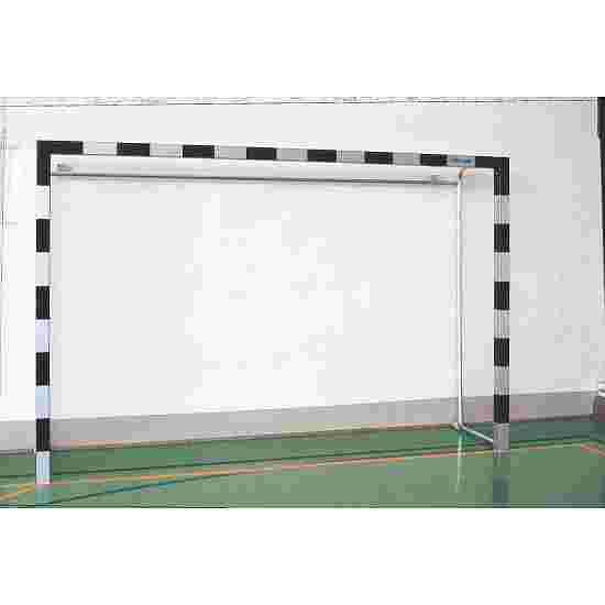 Hallenhandballtor aus Aluminium 3x2 m Mit feststehenden Netzbügeln