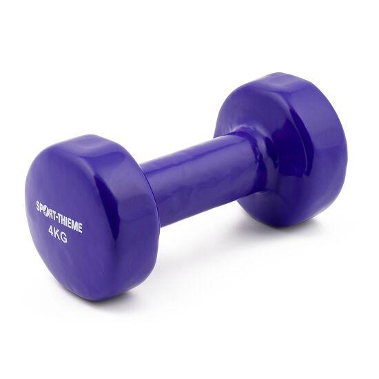 Haltères courts Sport-Thieme® Vinyle 4 kg, violet