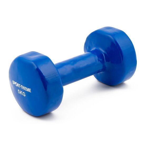 Haltères courts Sport-Thieme® Vinyle 5 kg, bleu
