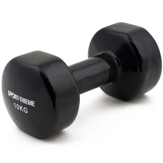 Haltères courts Sport-Thieme® Vinyle 10 kg, noir