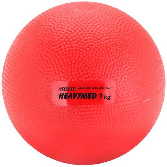 Heavy Med Gymnic® 1000 g, ø 12 cm, rouge