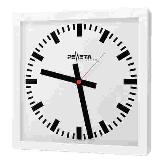 Horloge murale Peweta 40x40 cm, sur secteur Standard, Cadran avec index